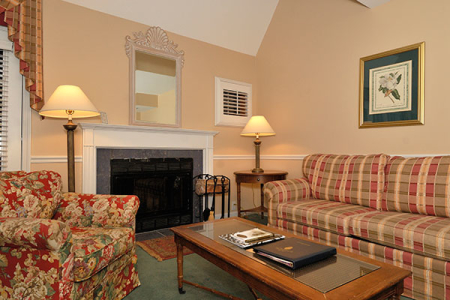 Connecticut Hotel Living Rooms